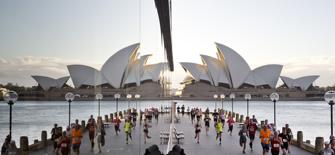 Liam Adams and Lauren Hamilton Win Real Insurance Sydney Harbour 10k