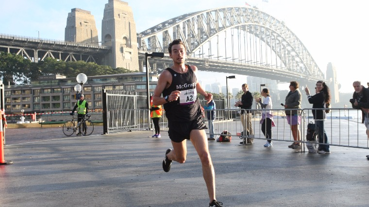 Harry Summers and Leanne Pompeani Win Real Insurance Sydney Harbour 10k