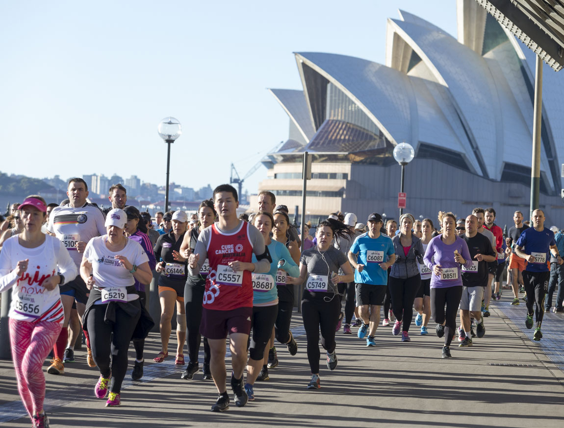 Love Your Sister Casts Rainbow of Hope Over Real Insurance Sydney Harbour 10k